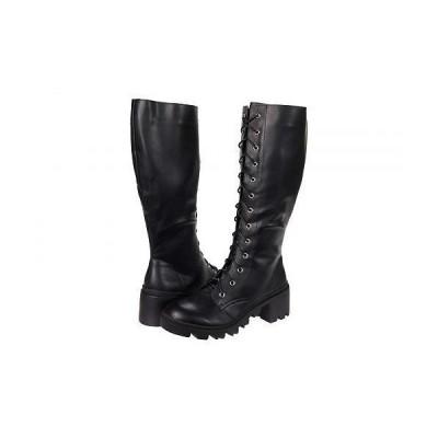 Madden Girl マッデンガール レディース 女性用 シューズ 靴 ブーツ ミッドカフ Dori - Black Paris
