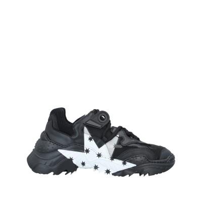 ヌメロ ヴェントゥーノ N°21 スニーカー&テニスシューズ(ローカット) ブラック 36 牛革(カーフ) / 紡績繊維 スニーカー&テニスシューズ