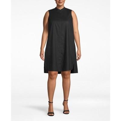 アンクライン ワンピース トップス レディース Plus Size Trapeze Dress Anne Black