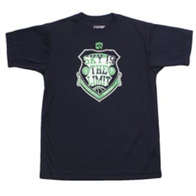 Tシャツ ジュニア 半袖 ドライプラス 吸汗速乾 Sky is the limit 751G9ES1023 NVY 【 バスケットボール ウェア 】