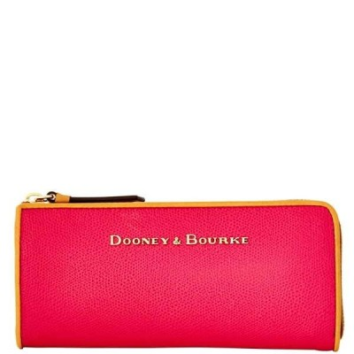 ドゥニー&バーク 財布  Dooney & Bourke Claremont ジップ クラッチ Fuchsia