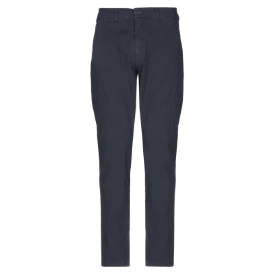 LIU •JO MAN パンツ ダークブルー 42 コットン 98% / ポリウレタン 2% パンツ