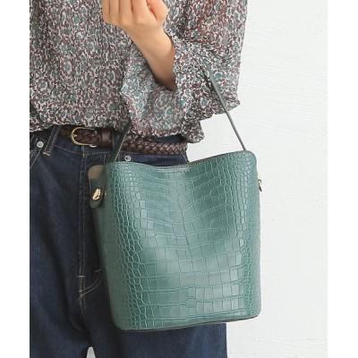 BASE / インバッグ付き クロコ型押し 2wayトートバッグ WOMEN バッグ > トートバッグ