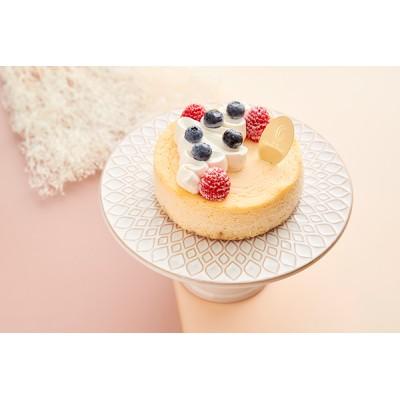 ホワイトデー2021 チーズケーキ ガトー・オ・フロマージュ・デコ 4号 12cm