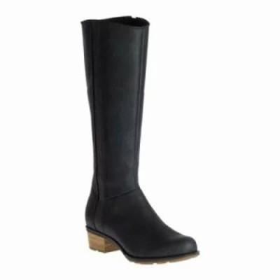 チャコ ブーツ Cataluna Tall Waterproof Boot Black Full Grain Leather