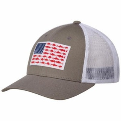 コロンビア キャップ PFG Mesh Snap Back Cap Titanium/ Fish Flag