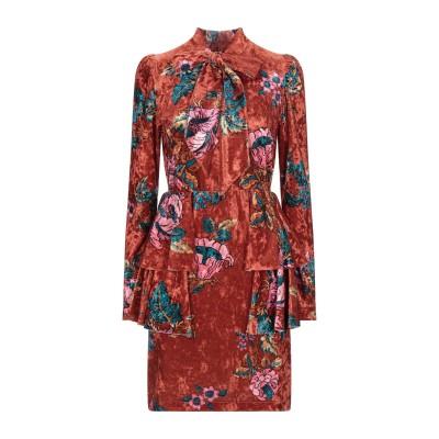 アニヤバイ ANIYE BY ミニワンピース&ドレス 赤茶色 S ポリエステル 92% / ポリウレタン 8% ミニワンピース&ドレス