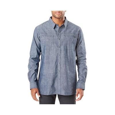 5.1100000000000003 Rambler L/s Shirt Stone Wash Indigo, Small【並行輸入品】