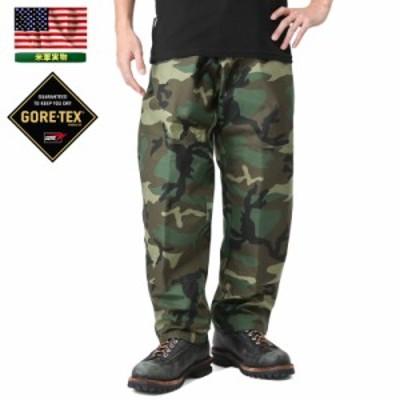 【T】実物 新品 米軍 コールドウェザー GORE-TEX パンツ WOODLAND CAMO XSMALL-REGULARサイズ / ミリタリー メンズ レディース ポイント