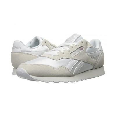 Reebok リーボック メンズ 男性用 シューズ 靴 スニーカー 運動靴 Royal Nylon - White/White/Steel
