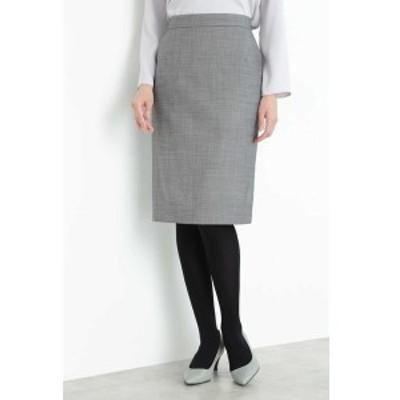 ボッシュ(BOSCH)/シルクウールギャバストレッチセットアップスカート