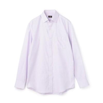 レギュラーカラースナップダウンドレスシャツ