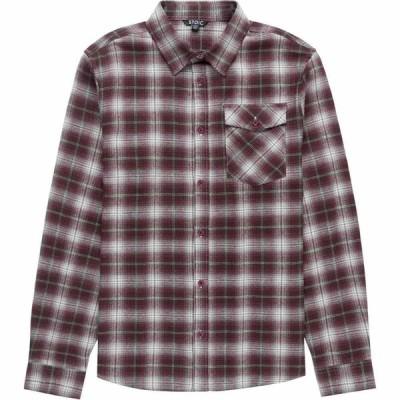 ストイック Stoic メンズ シャツ ネルシャツ トップス flannel adventure shirt Burgundy