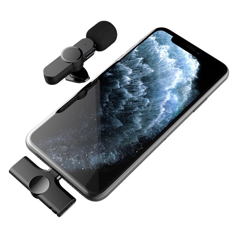 領夾式無線直播麥克風 Lightning (蘋果專用)第二代