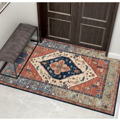玄関マット 50x80 マット ラグマット ラグ 床 室内用 おしゃれ 高級 ドアマット クラシック
