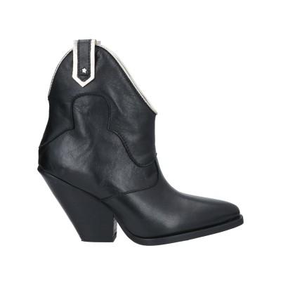 BRAWN'S ショートブーツ ブラック 38 牛革(カーフ) ショートブーツ