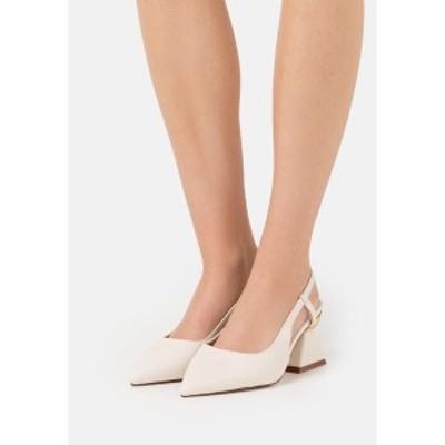 レイドワイドフィット レディース ヒール シューズ WIDE FIT JASMINE - Classic heels - offwhite offwhite