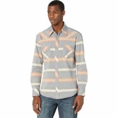ロックアンドロールカウボーイ Rock and Roll Cowboy メンズ シャツ トップス Long Sleeve Vintage 46 Serape Stripe Snap Shirt B2S8112