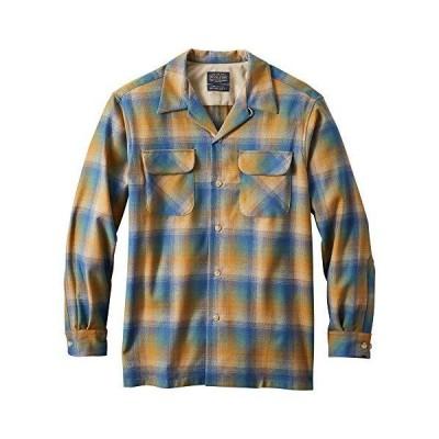 Pendleton メンズ 長袖 クラシックフィット ボードシャツ US サイズ: Small カラー: ブルー(並行輸入品)