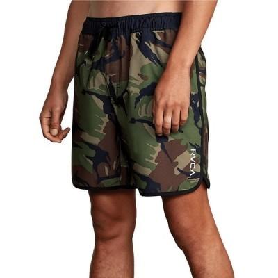 ルーカ メンズ ハーフ&ショーツ ボトムス Eastern Elastic Pull-On Camo 17#double; Outseam Shorts Green Camo