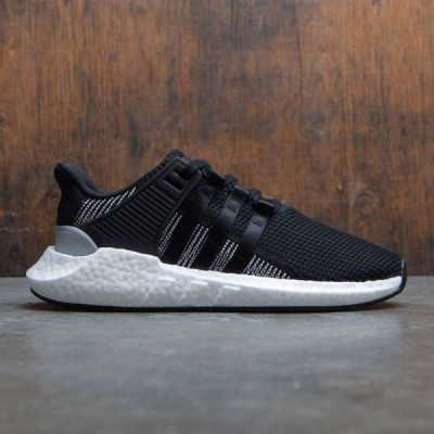 アディダス Adidas メンズ スニーカー シューズ・靴 EQT SUPPORT 93/17 black/cblack/ftwwht