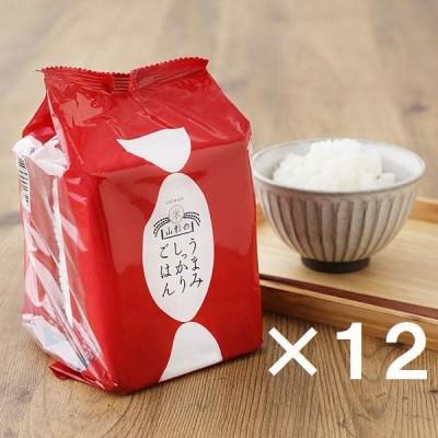 いちかわライスビジネスパックごはん36食【LOHACO限定】山形のうまみしっかりごはん 200g×3食パック 12袋(計36食) 米加工品