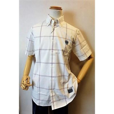 セール60%OFF カプリ 半袖シャツ ホワイト 春夏アウトレット現品限り品 メンズウェア CAPRI