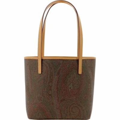 エトロ Etro レディース トートバッグ バッグ Paisley Shopping Bag Brown