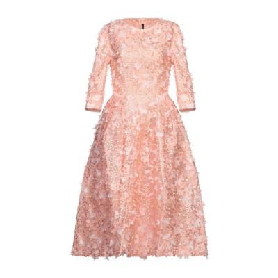 ISABEL GARCIA 7分丈ワンピース・ドレス サーモンピンク S ポリエステル 100% 7分丈ワンピース・ドレス