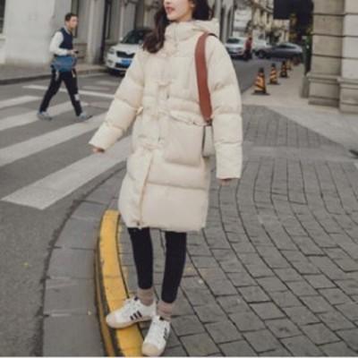 レデイース ダウンコート ダウンジャケット ロングコート シンプル 防寒 カジュアル アウトドア ガーリー オフィス 通勤 女子