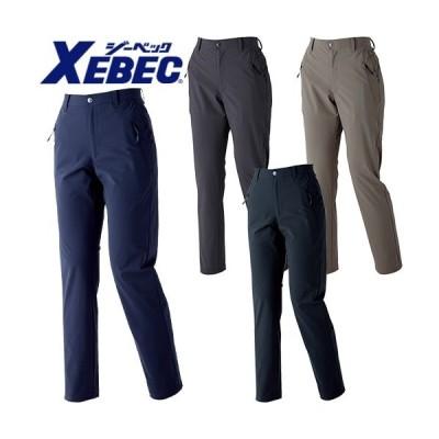 ジーベック XEBEC 接触冷感レディースストレッチパンツ 6067