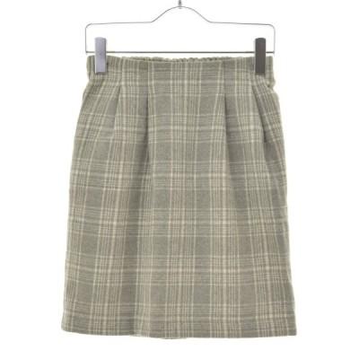 【期間限定値下げ】EMS EXCITE / エムズエキサイト チェック柄起毛 スカート