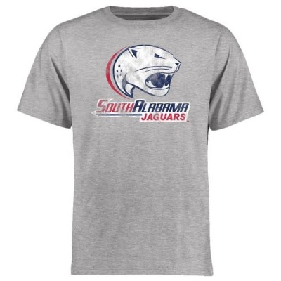 ユニセックス スポーツリーグ アメリカ大学スポーツ South Alabama Jaguars Big & Tall Classic Primary T-Shirt - Ash Tシャツ