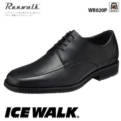 ランウォーク メンズ ビジネスシューズ アイスウォークソール 4E WR020P asics アシックス Runwalk 靴
