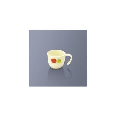 保育園用子供食器 ウィンサム マグカップ なかよしフルーツ (80×66mm・200cc) 三信化工[PPC-200NKF] 業務用 プラスチック製 学校給食・幼稚園向け