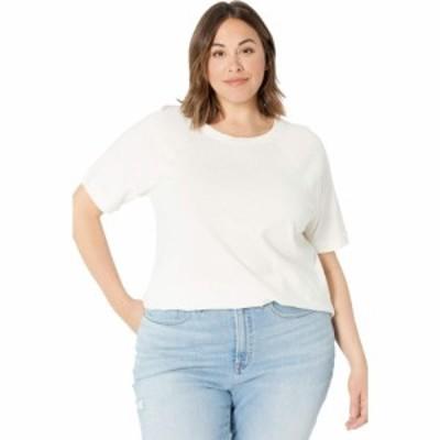 メイドウェル Madewell レディース Tシャツ 大きいサイズ トップス Plus Size Stitch Tee Lighthouse