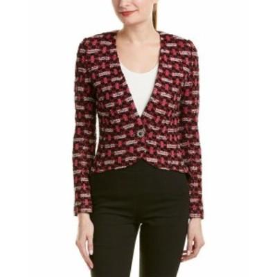 ファッション 衣類 St. John Wool-Blend Jacket 14