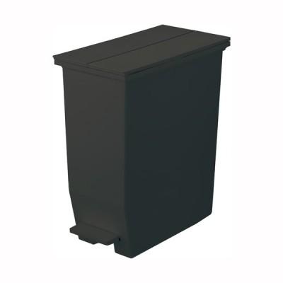ごみ箱 ダストボックス キャスター付き SOLOW ペダルオープンツイン 35L ブラック