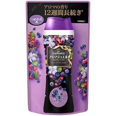 レノア ハピネス 香り付け専用ビーズ アロマジュエル サファイアベリーの香り 詰め替え 455mL