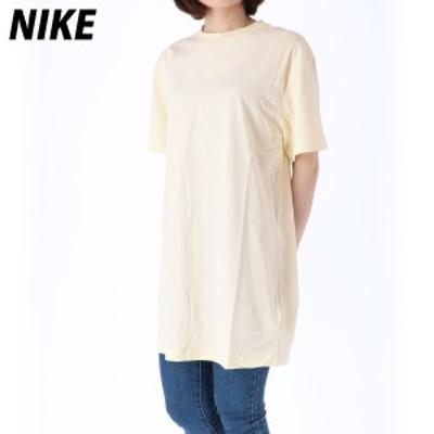 ナイキ Tシャツ 上 レディース NIKE ゆったり ビッグシルエット ロゴ オーバーサイズ 半袖 CJ2243 OFW 送料無料 21SS