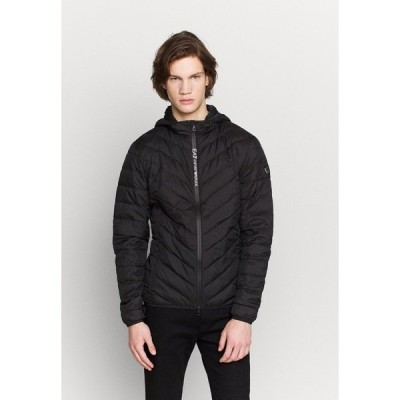 エンポリオ アルマーニ ジャケット&ブルゾン メンズ アウター Down jacket - black