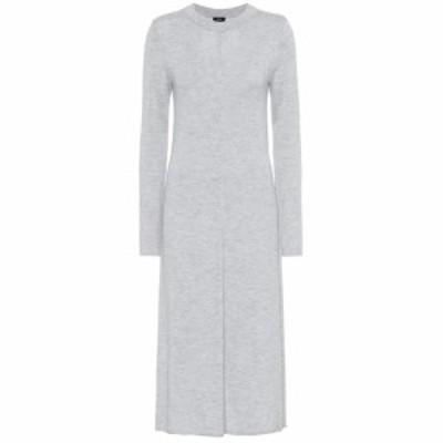 ジョゼフ Joseph レディース ワンピース ワンピース・ドレス Merino wool midi dress Grey Chine