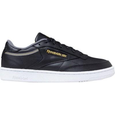 (取寄)リーボック メンズ クラブ C85 スニーカー Reebok Men's Club C 85 Sneaker Black/Cold Grey/Fierce Gold