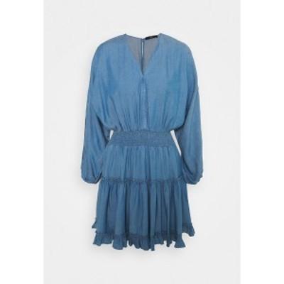 シュテフェン スクラウト レディース ワンピース トップス LAUREN SUMMER TUNIC - Day dress - indigo indigo
