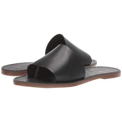 Madewell Boardwalk Post Slide Sandal レディース サンダル True Black