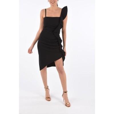 PINKO/ピンコ Black レディース Asymmetrical ANITA Draped Dress dk