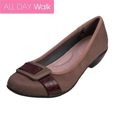 パンプス 痛くない 歩きやすい ALL DAY Walk 057 ベージュ [ALD0570]