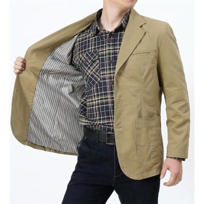 テーラードジャケット メンズ ジャケット ブレザー 秋服 春 テーラード 秋 紳士服 スリム 細身