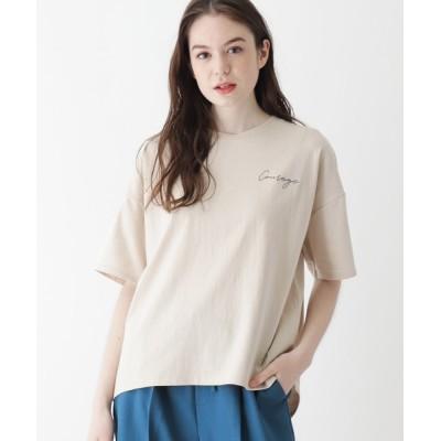 SHOO・LA・RUE / 【M-L】CourageエンブロイダリーTシャツ WOMEN トップス > Tシャツ/カットソー