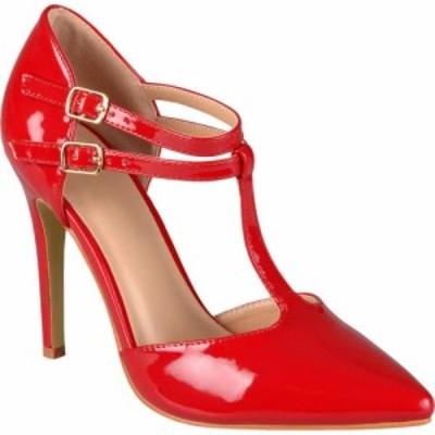 ジュルネ コレクション Journee Collection レディース パンプス シューズ・靴 Tru Pump Red